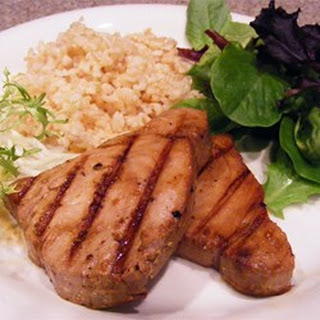 Grilled Teriyaki Tuna.
