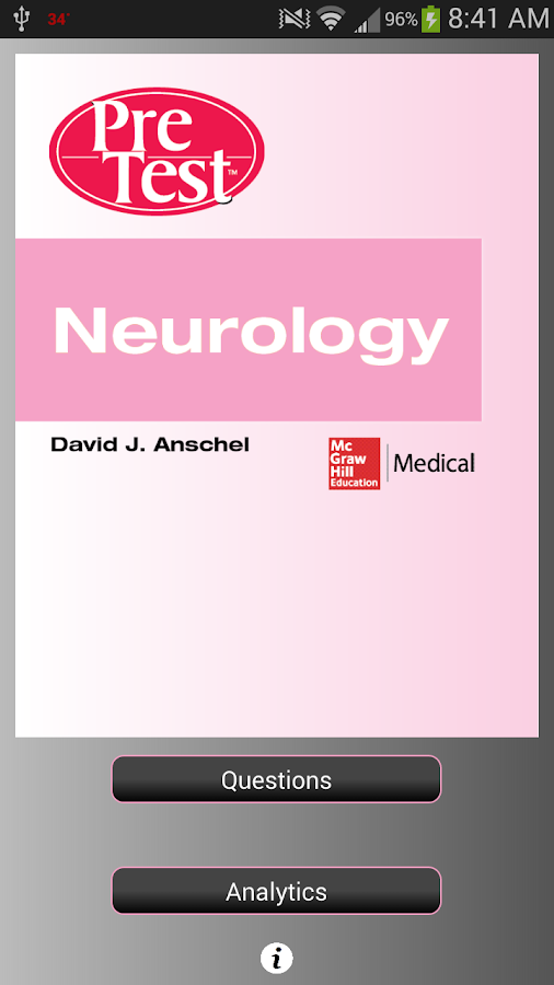 PreTest Neurology - screenshot