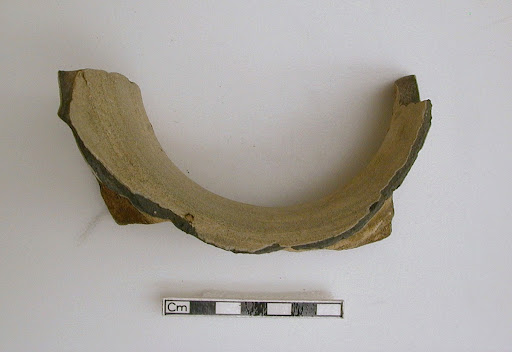 A fragment of a neck of a large jar