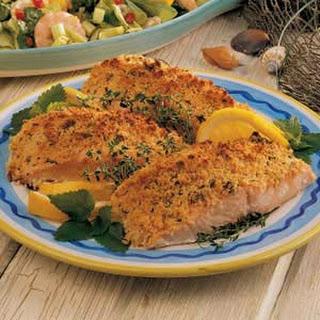 Crumb-Topped Salmon.