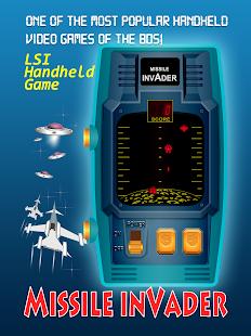 Missile Invader RETRO HANDHELD