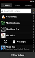 Screenshot of WP7 Theme [ExDialer]