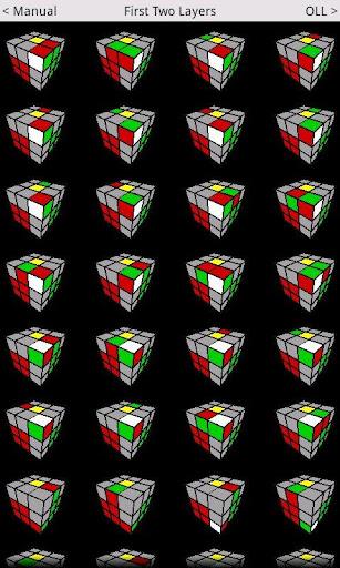 Speed Cube Algorithms Lite  screenshots 1