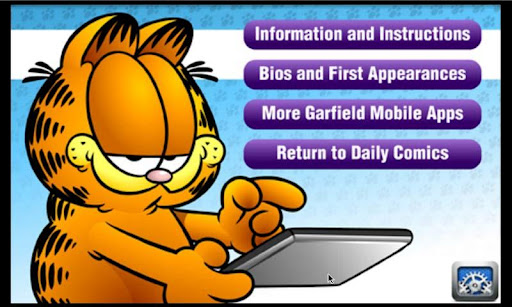 Garfield Daily 1.1.06 screenshots 2
