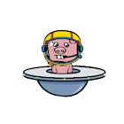 Pigs in space icon
