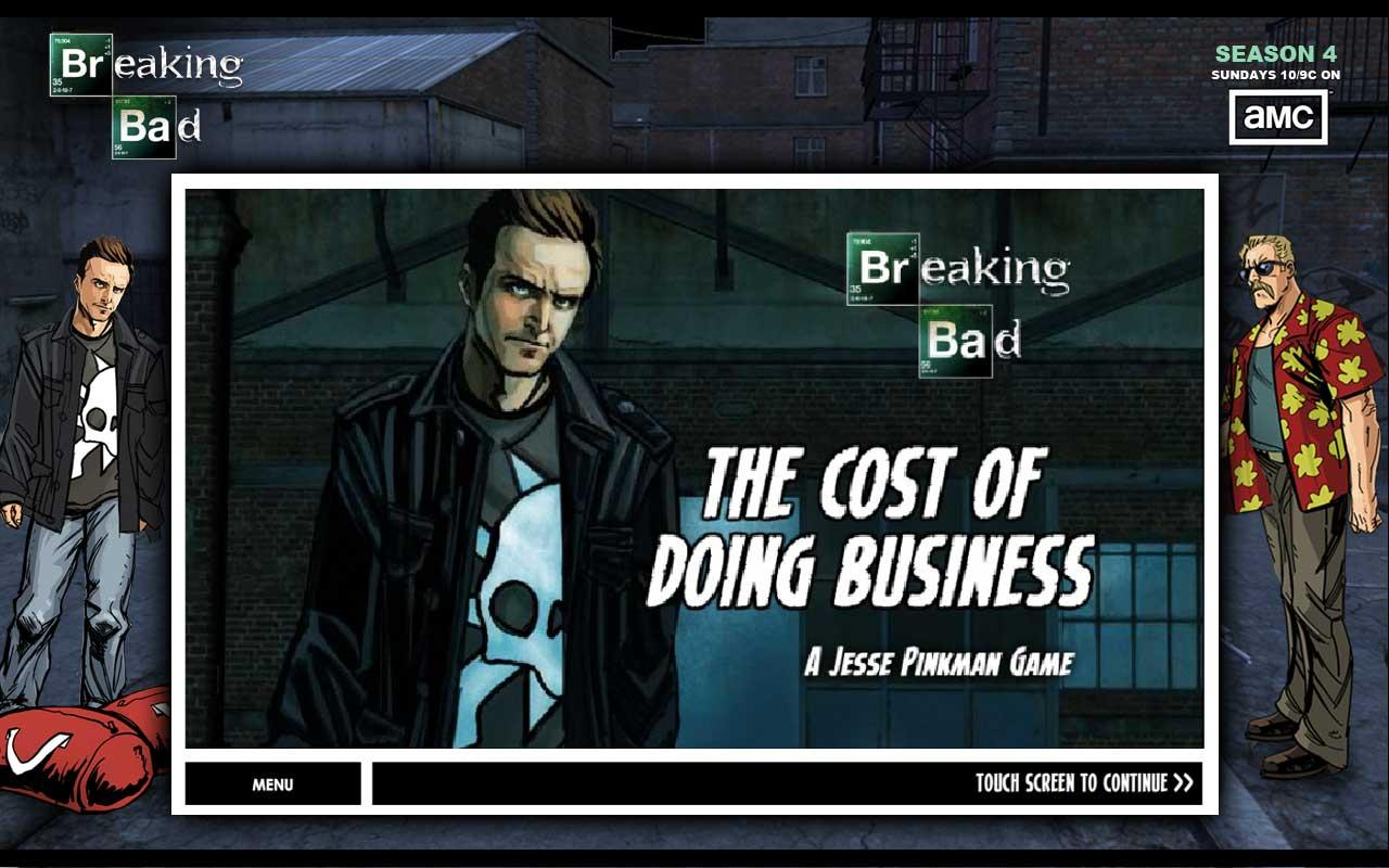 Breaking Bad - The Cost of...- screenshot