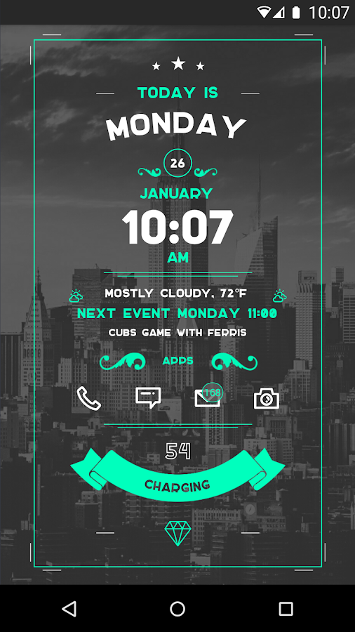 Zooper Widget- screenshot