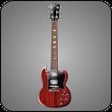 Guitar SG doo-dad icon