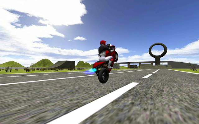 Extreme MotorBike Jump 3D - screenshot