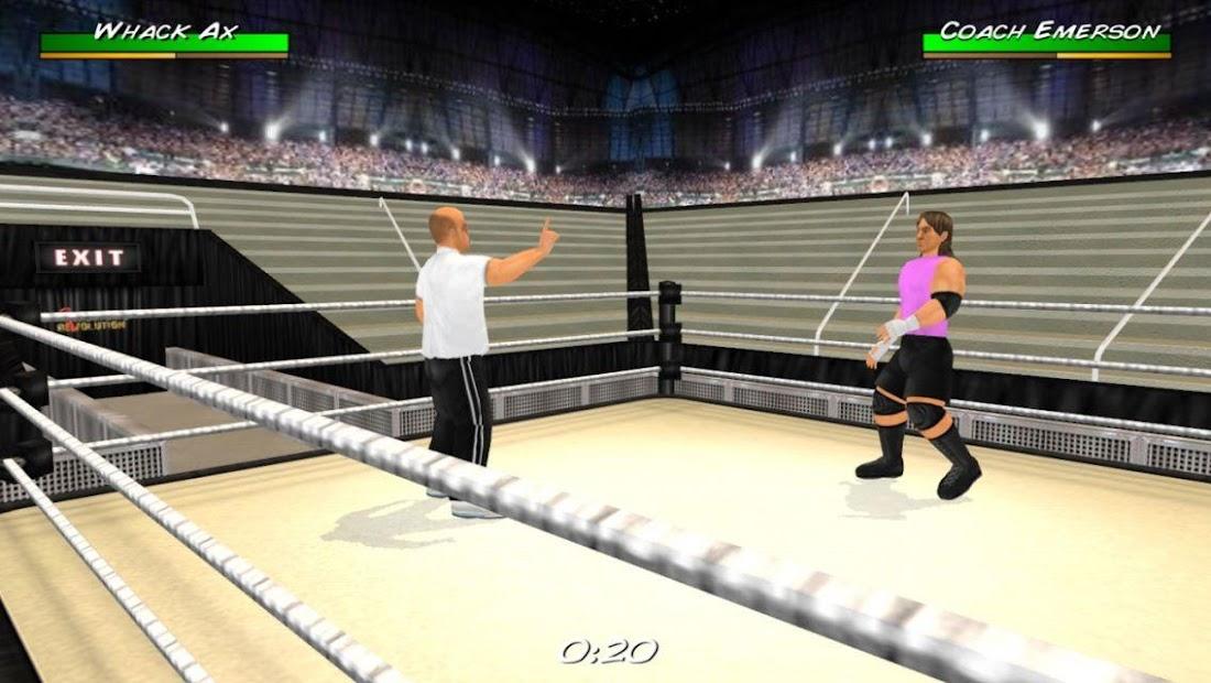 Wrestling Revolution 3D screenshot 5