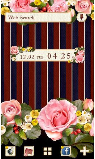 Girly Theme Regimental Roses 1.0.1 Windows u7528 1