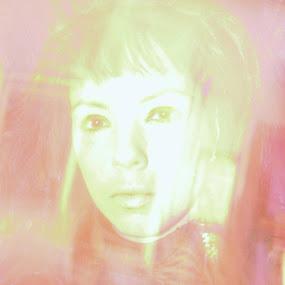 Self portrait by Fran Kat - Abstract Patterns ( selfie, self shot, light painting, self portrait, portrait )