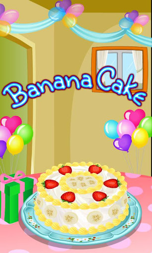 Banana Cake Cooking