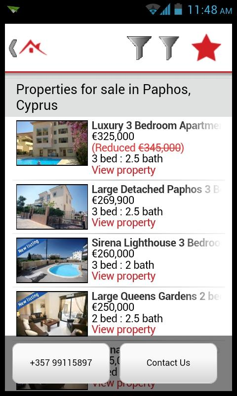 Cyprus Resale Properties- screenshot