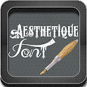 Aesthetique Font icon