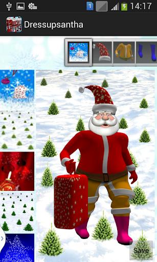 Dress up Santa Clause
