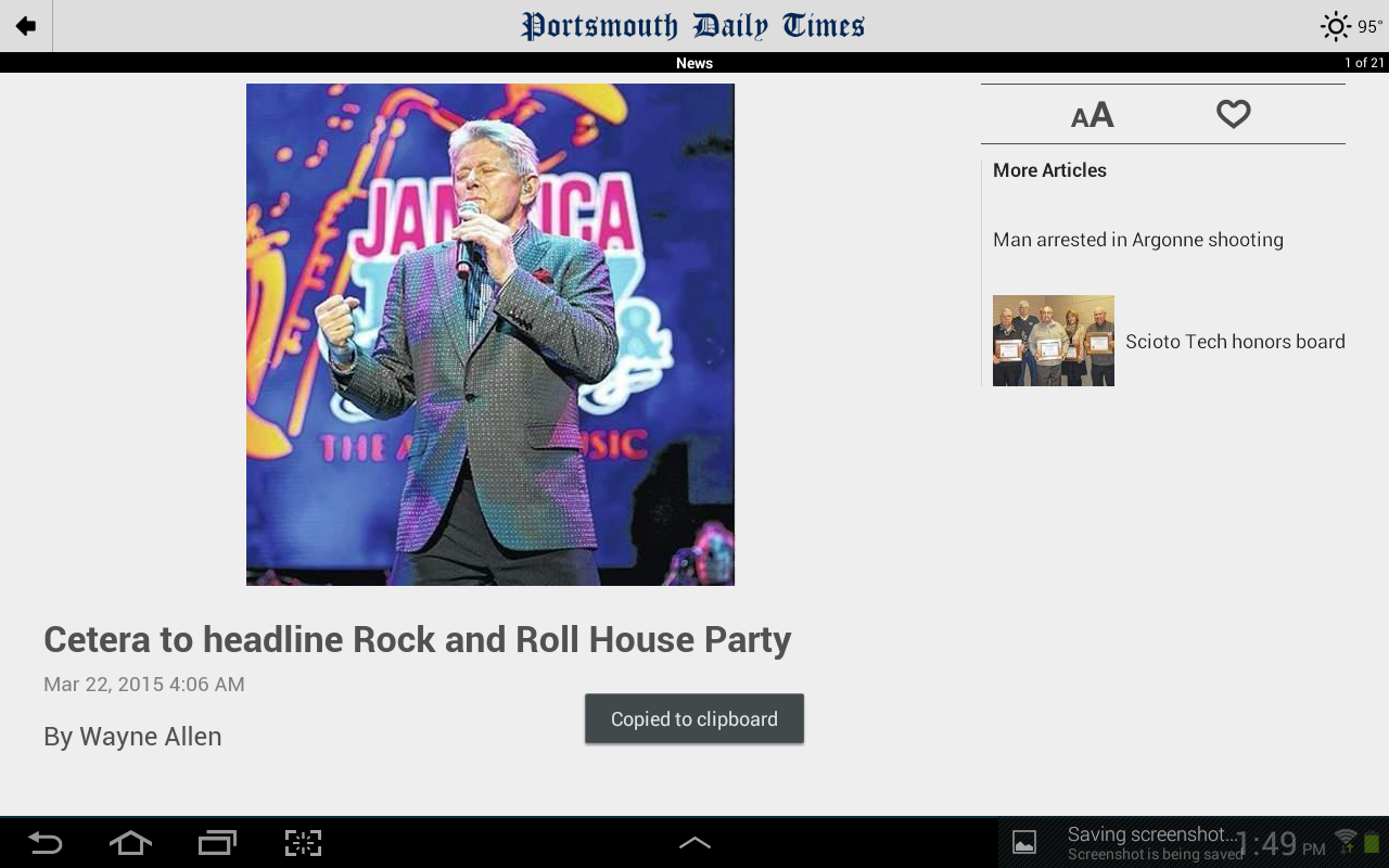 Portsmouth Daily Times- screenshot