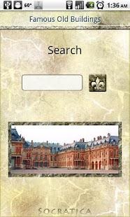 Famous Old Buildings- screenshot thumbnail