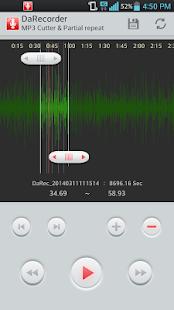 MP3 錄音機,高品質錄音筆,快速播放,速度紀錄 DaRec