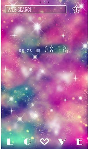 Galaxy Theme Pink Universe 1.0 Windows u7528 1