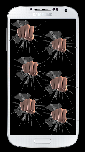 Fist Boxing Broken Screen