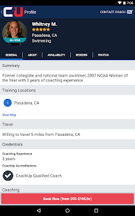 CoachUp - Sports Lessons - screenshot thumbnail