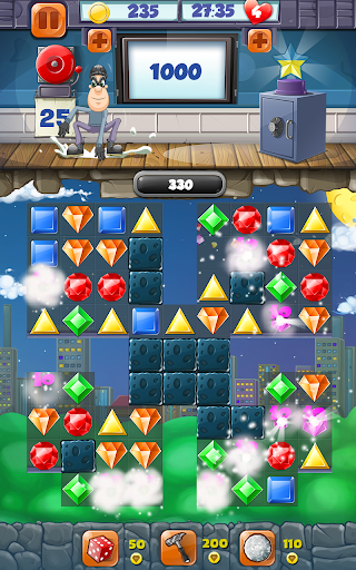 Jewel Blast Match 3 Game  screenshots 1