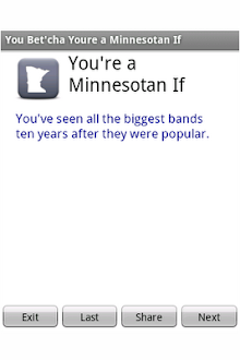You're a Minnesotan if...