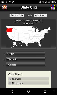 State Quiz Free - screenshot