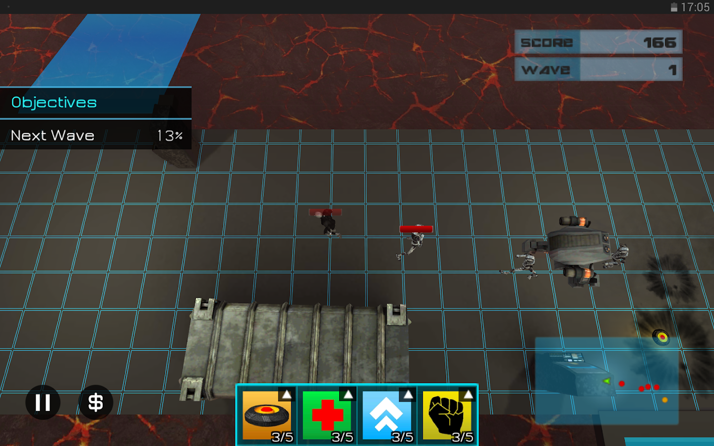 Botmines- screenshot