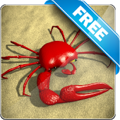 Red Crab Free live wallpaper