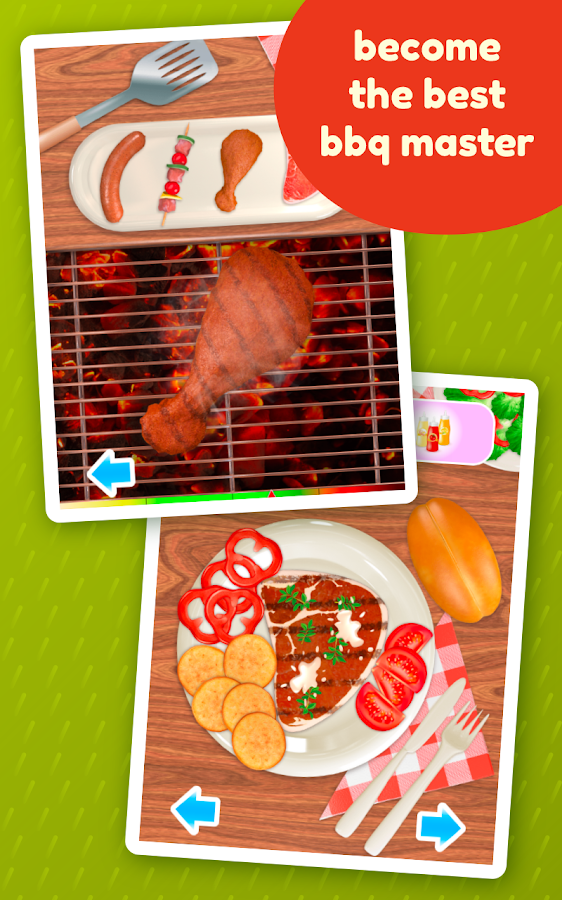BBQ Grill Maker - Cooking Game- screenshot