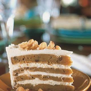 White Chocolate Sweet Potato Cake.