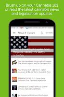 Screenshot of Leafly Marijuana Reviews