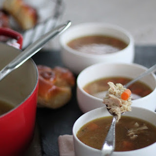 Kid's Chicken & Rice Soup