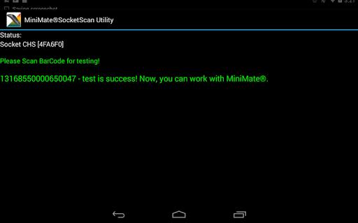 MiniMate®SocketScan Utility