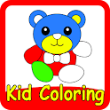 Kid Coloring & Kid Paint no-ad icon
