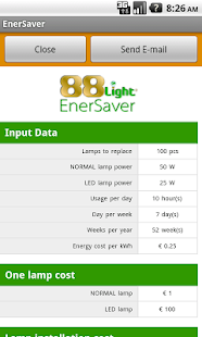 EnerSaver- screenshot thumbnail