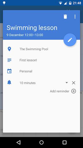 Touch Calendar Free  screenshots 3