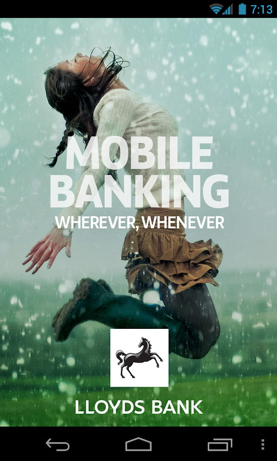 Lloyds Bank Mobile Banking - screenshot