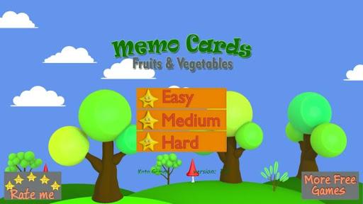 水果和蔬菜备忘录