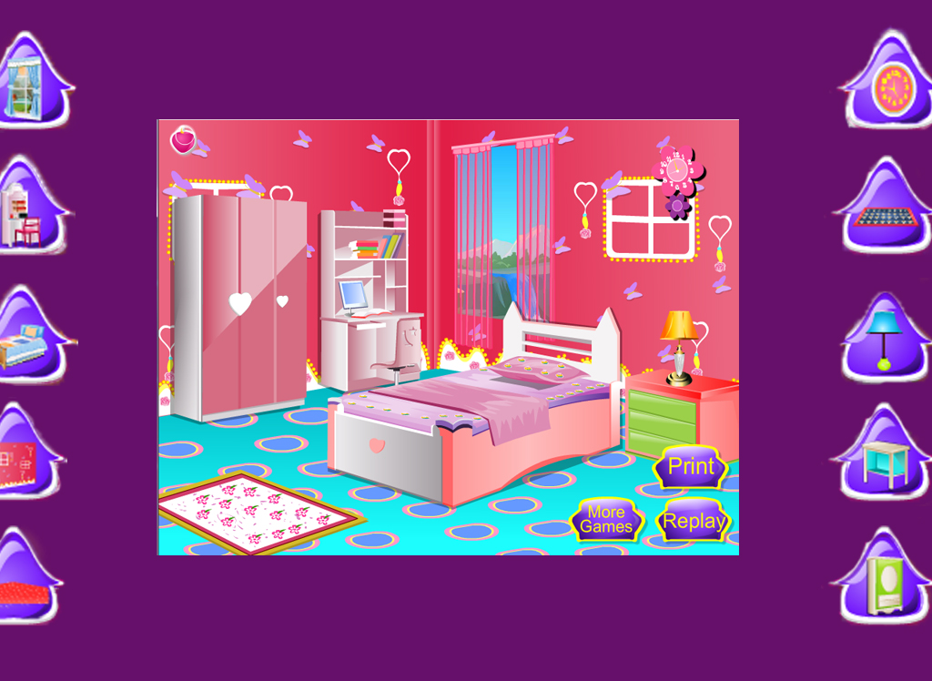 Girl decorating room games for Room design game app