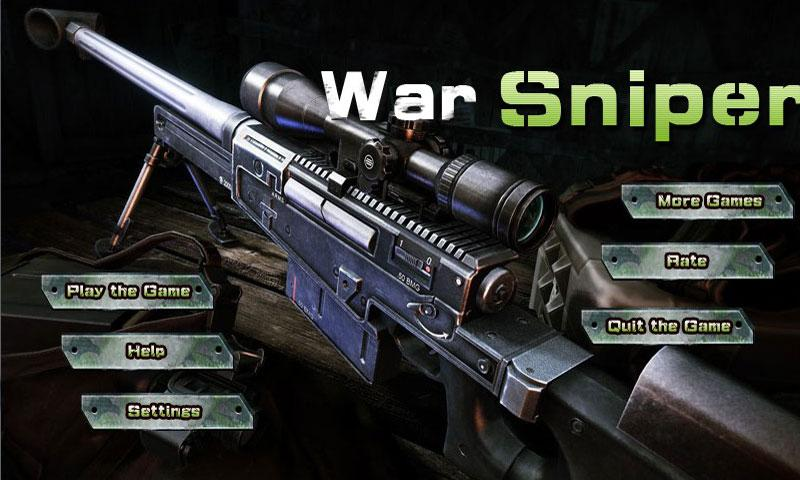 War Sniper-Top Free Game - screenshot