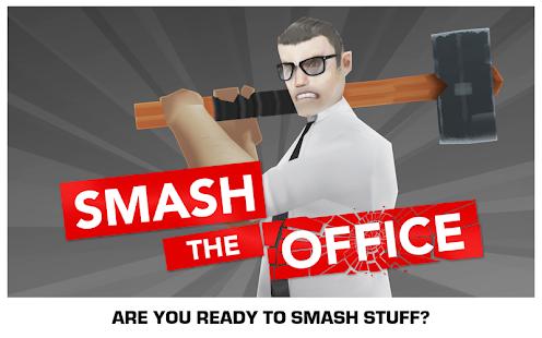 Smash the Office - Stress Fix! Screenshot