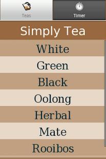 Simply Tea - screenshot thumbnail