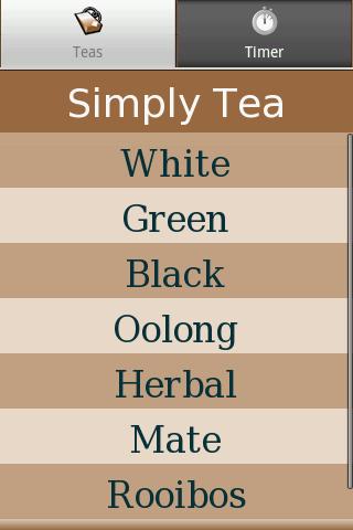 Simply Tea - screenshot