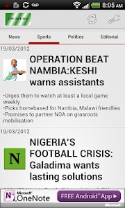 The Nation NewsPaper screenshot 3
