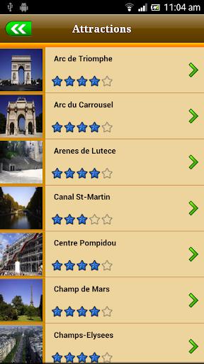 Paris Offline Travel Guide