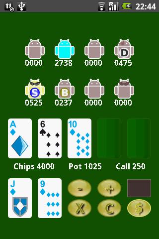 Poker Droidz - Offline Texas Holdem- screenshot