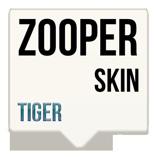 Tiger Zooper skin LOGO-APP點子